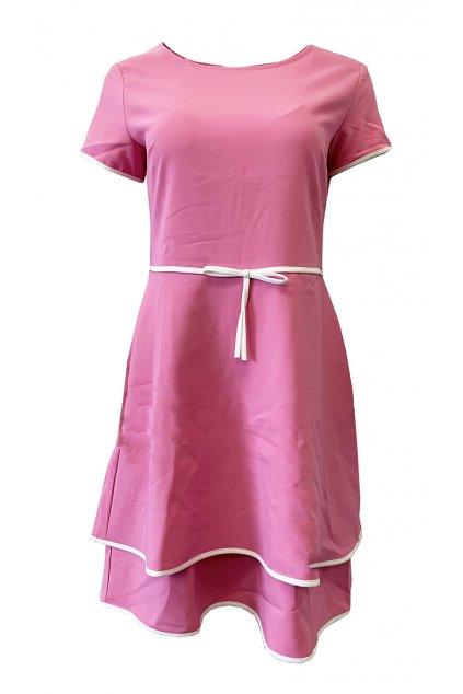 Šaty Rinascimento SC3959VD pink