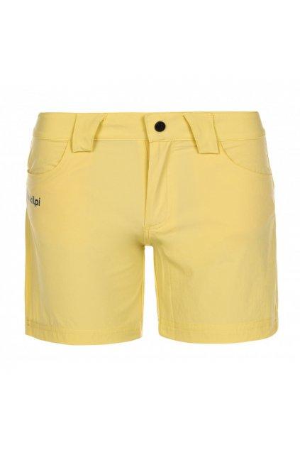 Kilpi Dámské šortky Sunny žlutá