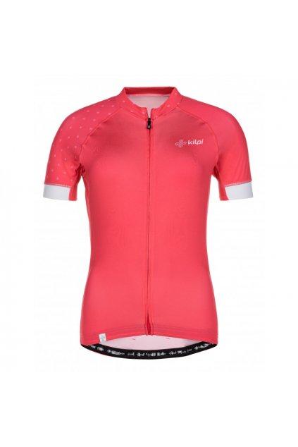 Kilpi Dámský cyklistický svetr Wild růžová