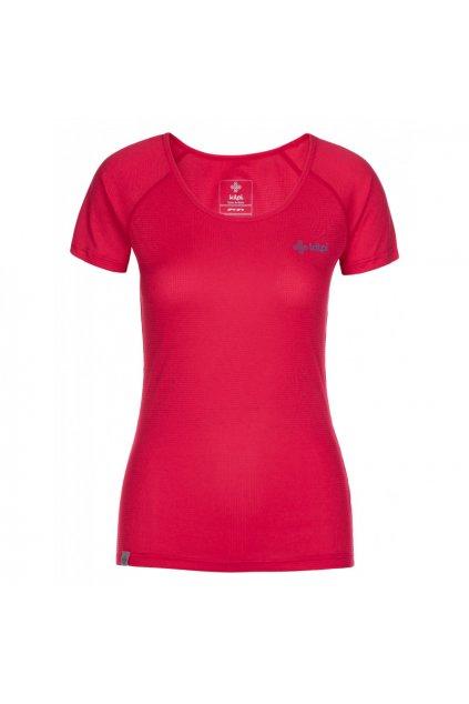 Kilpi Dámské běžečké tričko Dimaro růžová