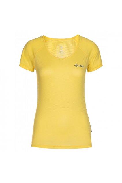 Kilpi Dámské běžečké tričko Dimaro žlutá