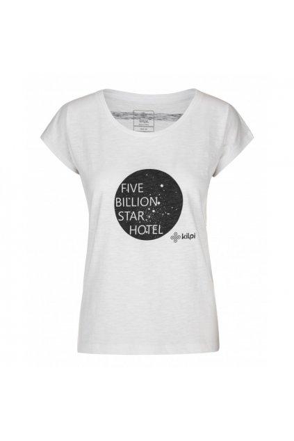 Kilpi Dámské tričko Star bílá