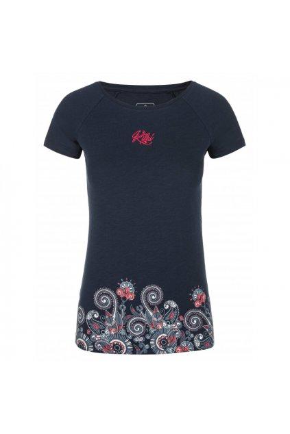 Kilpi Dámské tričko Mint tmavě modrá