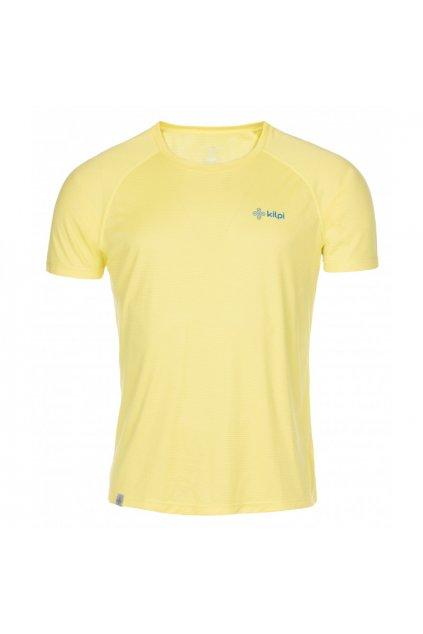 Kilpi Pánské běžžecké tričko Dimaro žlutá