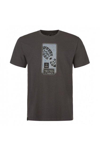 Kilpi pánské tričko Booty tmavě šedá