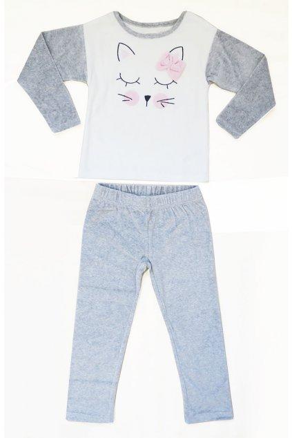 Dětské pyžamo kočička Orchestra HFINEM-GRC