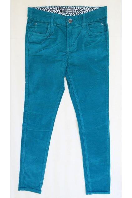 Dětské kalhoty zelené Orchestra NM120O/101