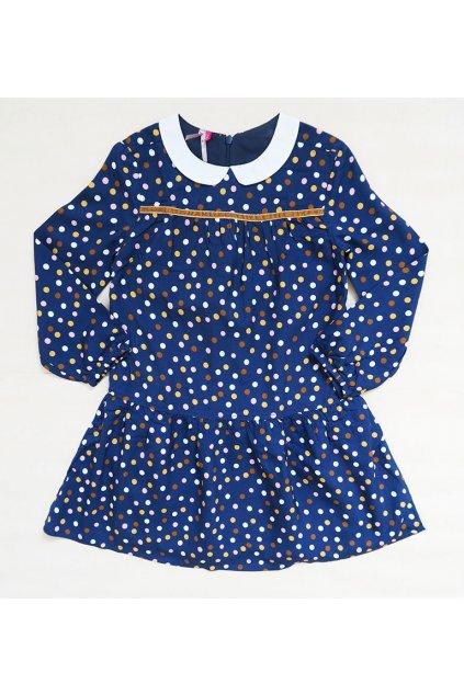 Dětské šaty puntík Orchestra HFIN47-BLF