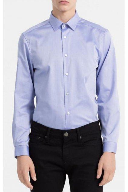 Košile Calvin Klein blue K10K100730639