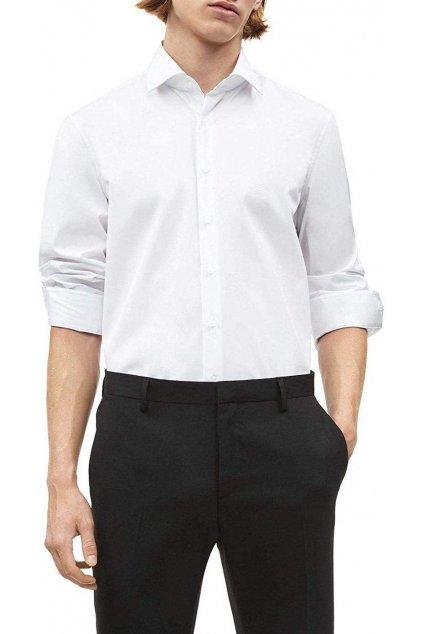 Košile Calvin Klein white K10K100730105