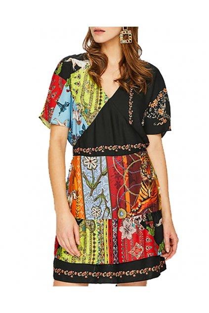 Dámské šaty Desigual 18WWVW42/9019