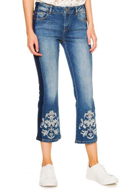 Džínové kalhoty Desigual 18SWDD36/5053