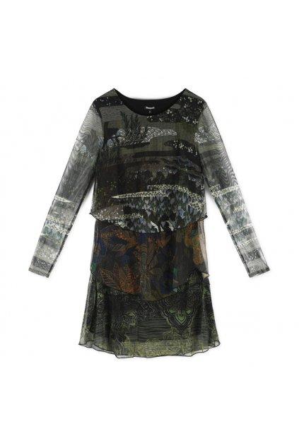 Dámské šaty Desigual 18WWVKY6/4007