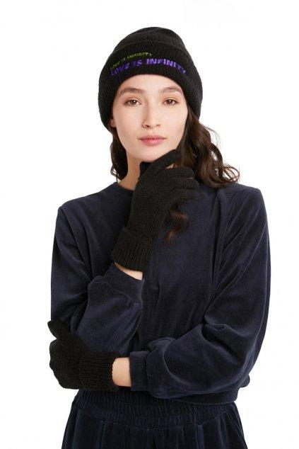 Zimní dárkový set Desigual 21WAOA40/2000 gift box black
