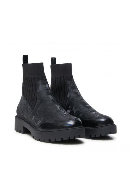 Dámské boty Desigual 21WSAP04/2000 shoes biker sock