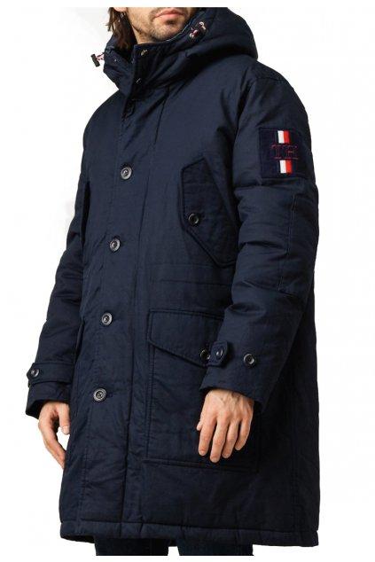 Bunda Tommy Hilfiger MW0MW11499 CJM TH monogram cotton hooded parka