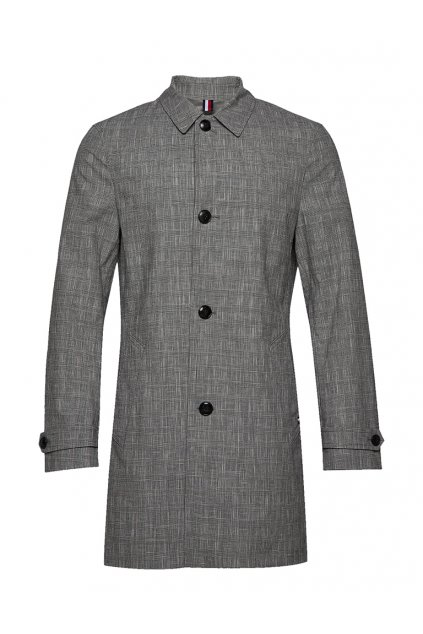 Kabát Tommy Hilfiger TT0TT07033 0ME check design carcoat