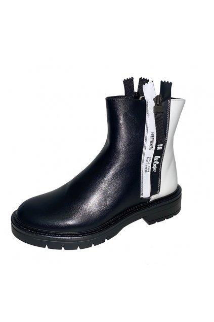 Dámské boty Lee Cooper LCJ21470650LB/black-white
