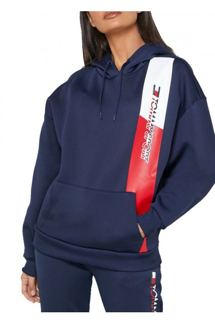 Mikina Tommy Hilfiger S10S100357401 oraphic flag hoody