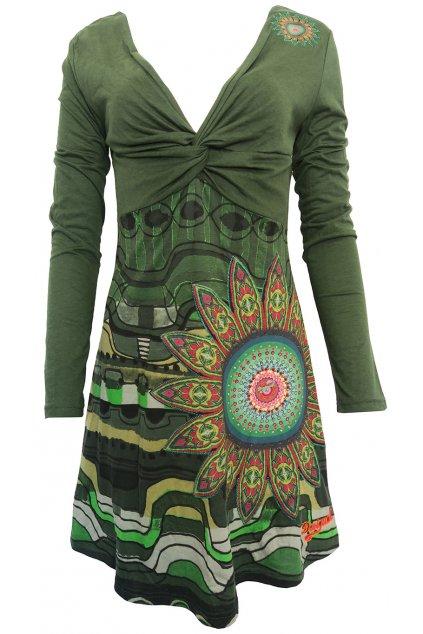 Barevné šaty Desigual