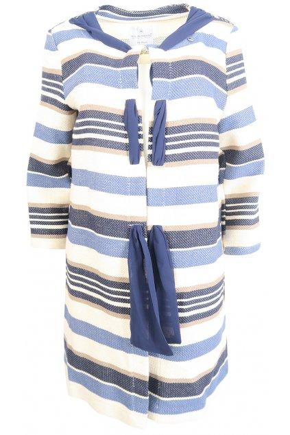 Modrý pruhovaný svetřík Rinascimento