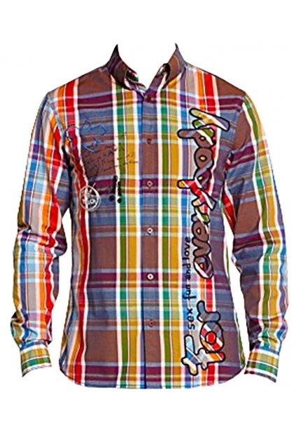 Desigual barevná károvaná košile