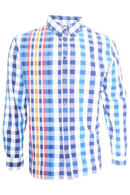 Desigual károvaná modrá košile
