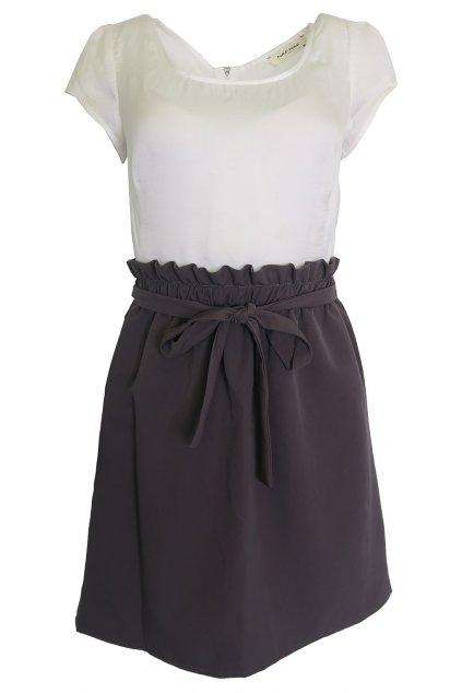 Barevné kombinované šaty Naf Naf