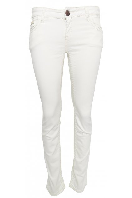 Bílé džíny Cipo & Baxx