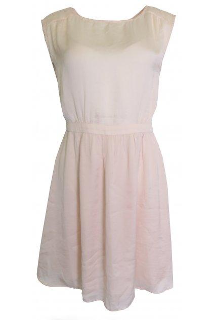 Světle růžové šaty Naf Naf