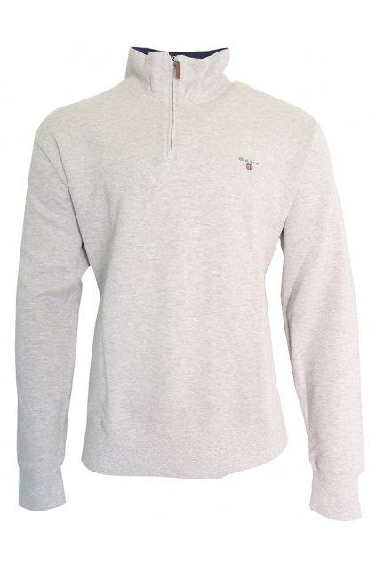 Moderní svetr se zipem Gant