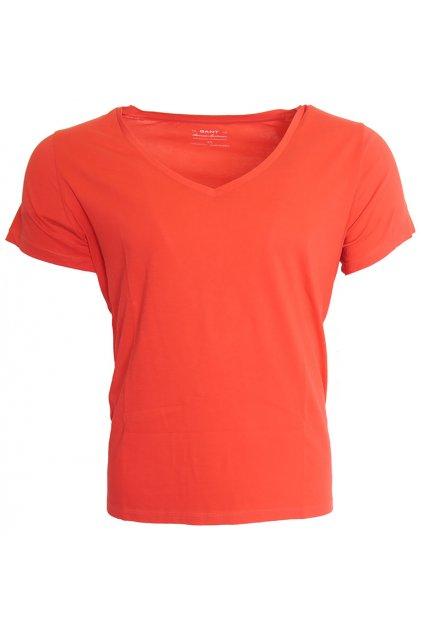 Červené triko Gant