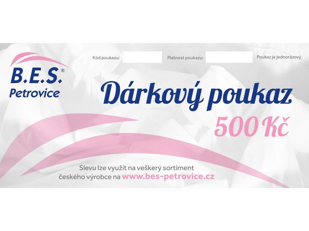 darkovy poukaz 500