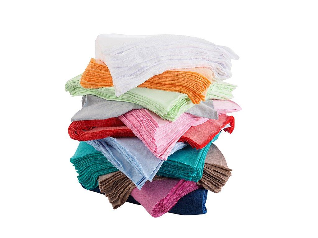 Textilní odřezky - Froté 10 kg