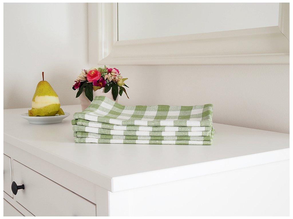Kuchyňská utěrka KARIN 50x70 - Zelená