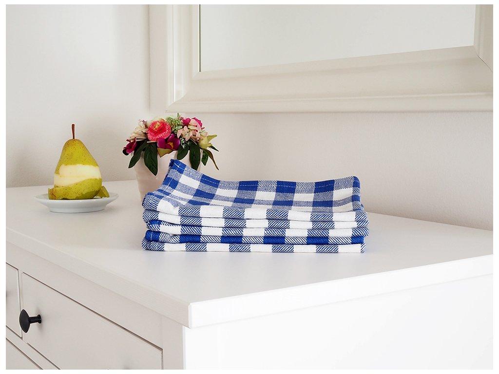 Kuchyňská utěrka KARIN 50x70 - Modrá