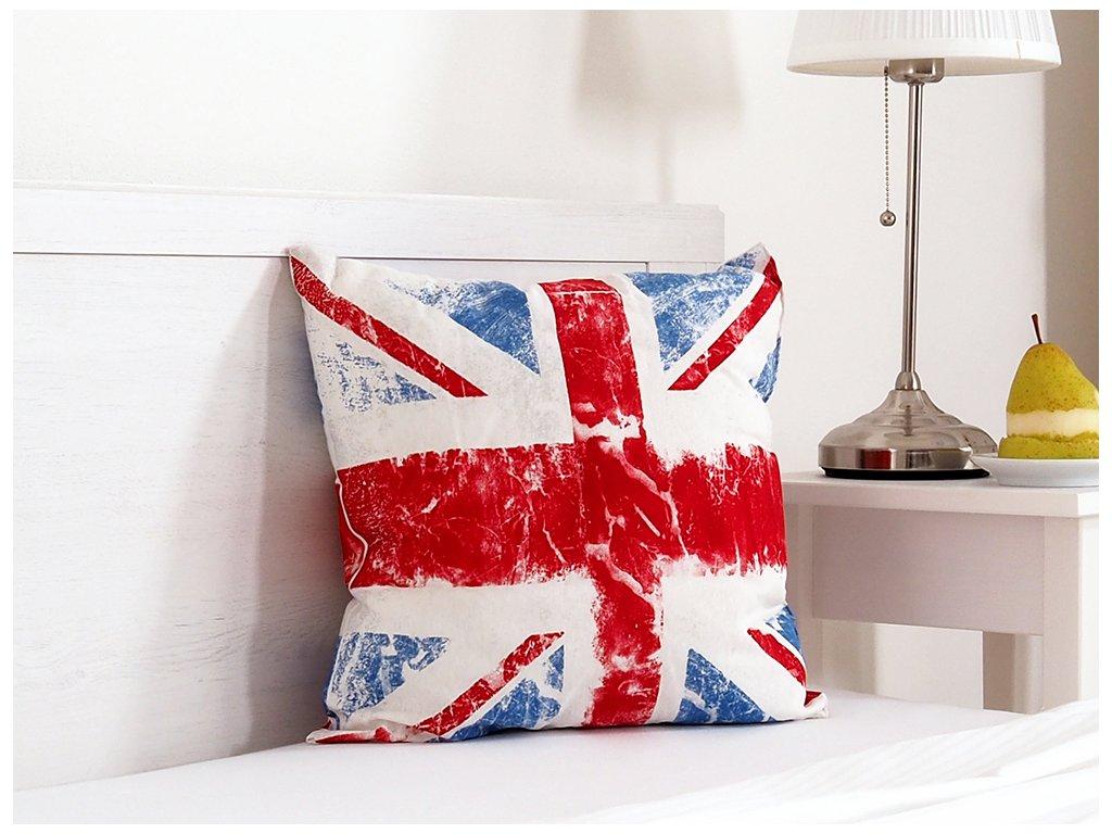 Dekorační polštářek 45x45 - Union Jack