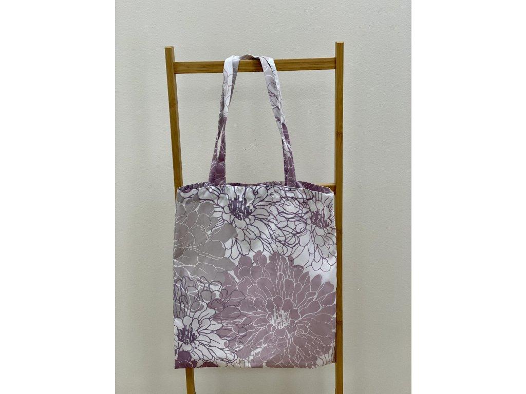 Látková taška - 40x45cm - vzor Dicentra