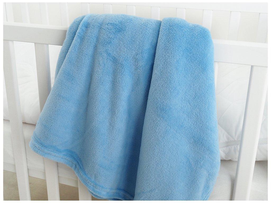 Dětská deka mikroflanel EXCLUSIVE 110x140 - Blue