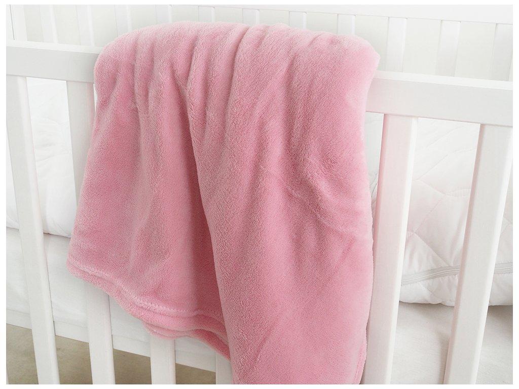 Dětská deka mikroflanel EXCLUSIVE 110x140 - Pink