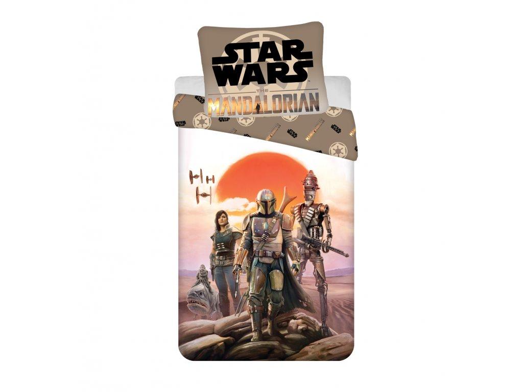 Bavlněné povlečení 140x200 + 70x90 cm - Star Wars