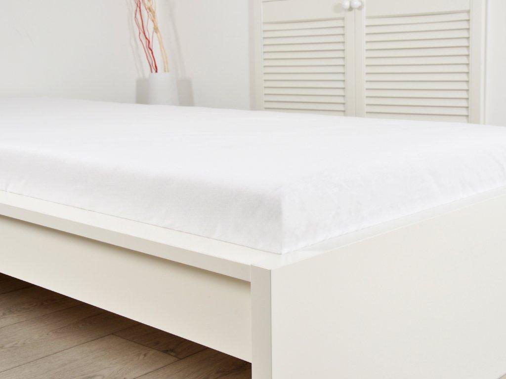 Prostěradlo Tkané 140 x 240 - Bílá
