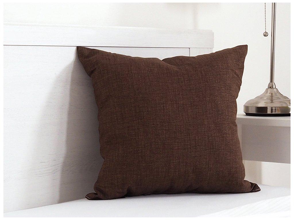 Dekorační polštářek 45x45 - Hnědý