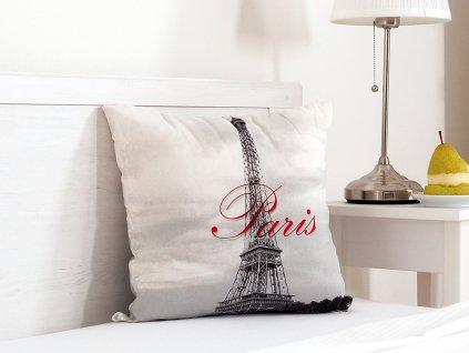 Dekorační polštářek 45x45 - Paris