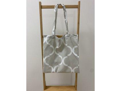 Látková taška - 40x45cm - vzor Hosta