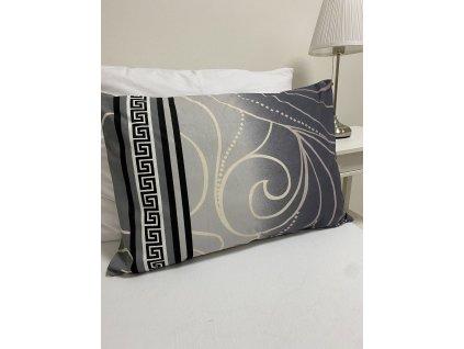 Bavlněný potah na polštářek 50x70 - vzor Silver