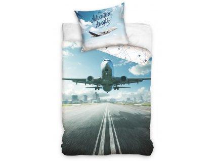 Bavlnene povleceni Dopravni Letadlo NL213006