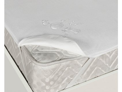 Nepropustný hygienický chránič matrace s gumami v rozích