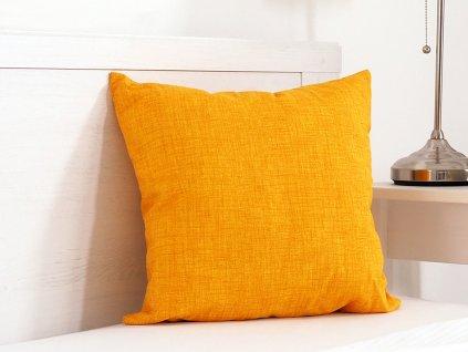 Dekorační polštářek 45x45 - Žlutá