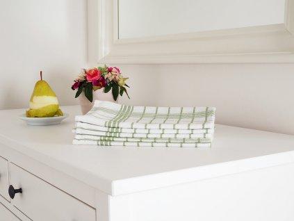 Kuchyňská utěrka MONA 50x70 - Zelená